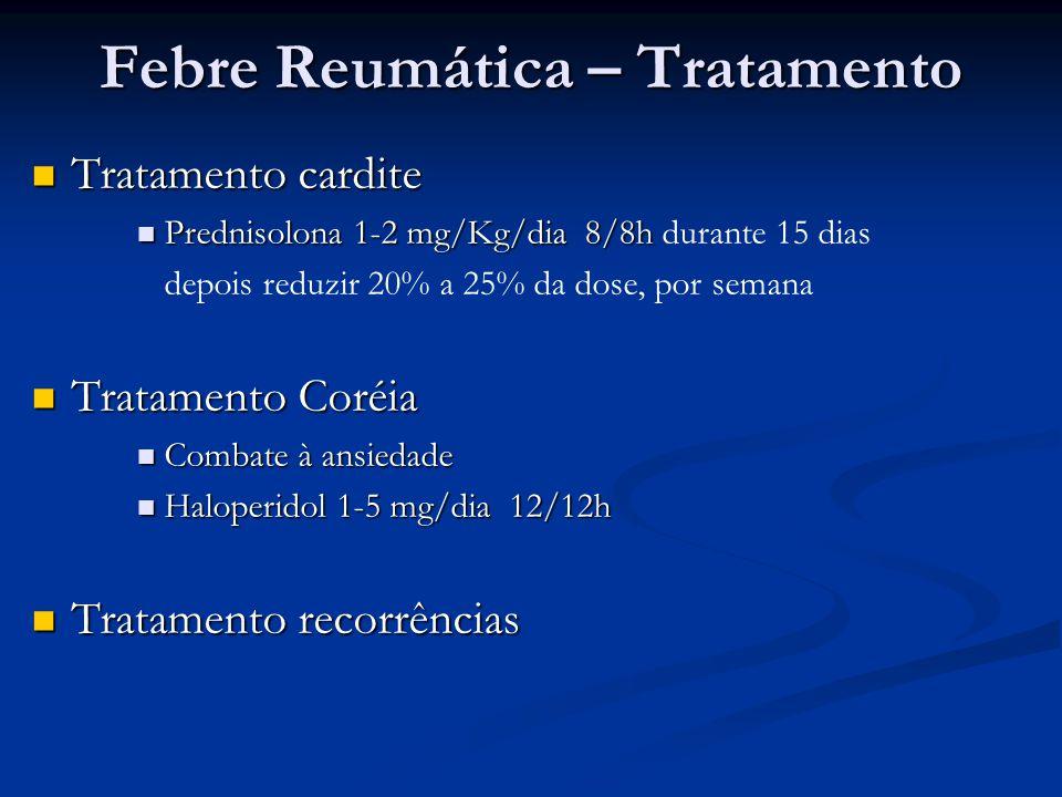 Febre Reumática – Tratamento