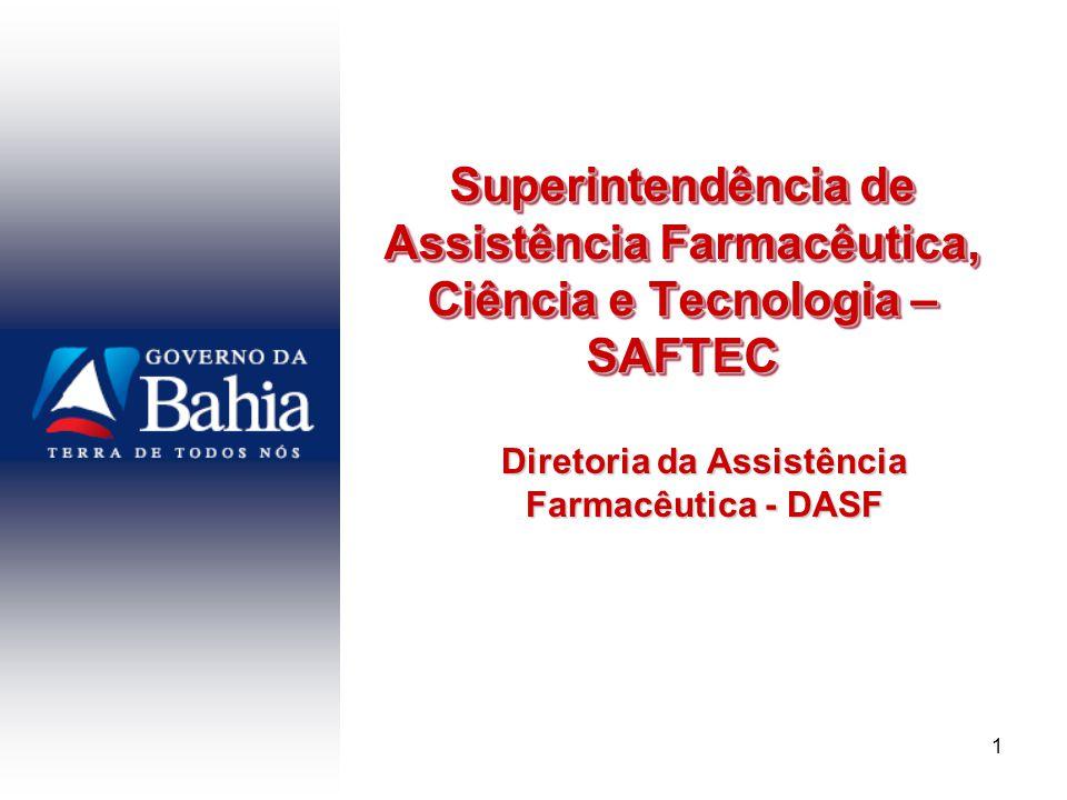 Diretoria da Assistência Farmacêutica - DASF