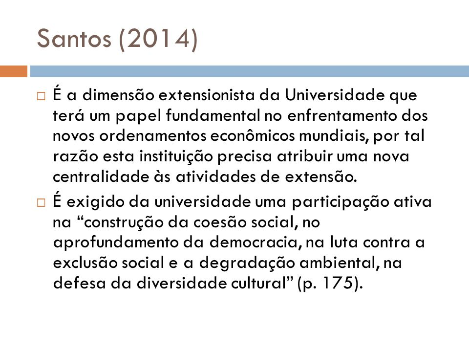 Santos (2014)
