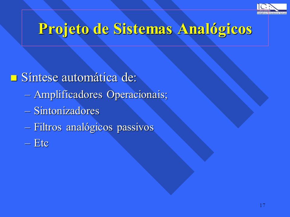 Projeto de Sistemas Analógicos