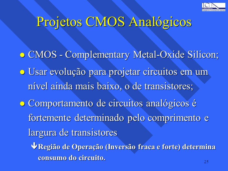 Projetos CMOS Analógicos
