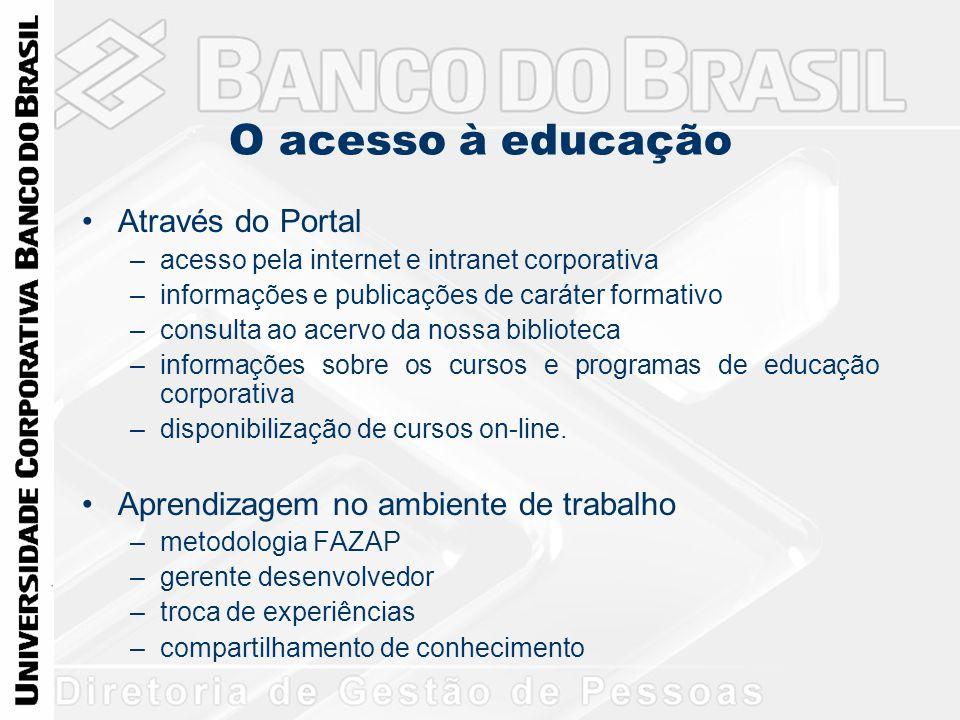O acesso à educação Através do Portal