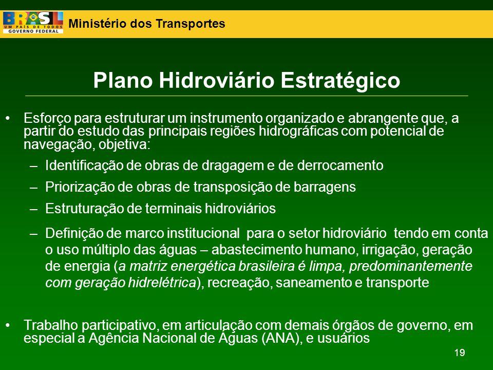 Plano Hidroviário Estratégico