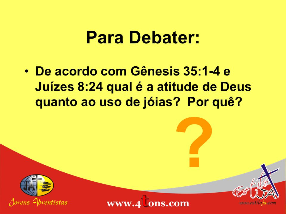 Para Debater: Estiloja.com