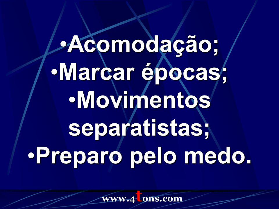 Movimentos separatistas;