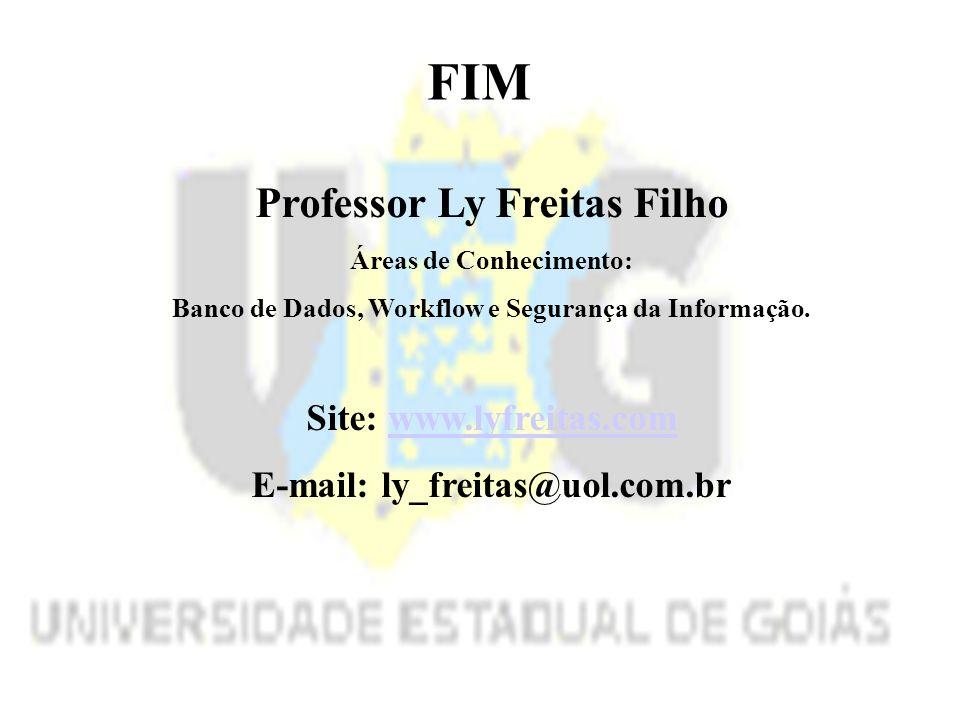 FIM Professor Ly Freitas Filho Site: www.lyfreitas.com