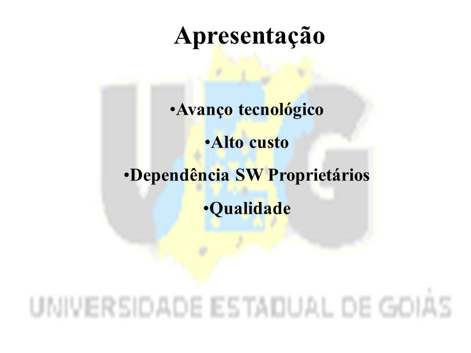 Dependência SW Proprietários