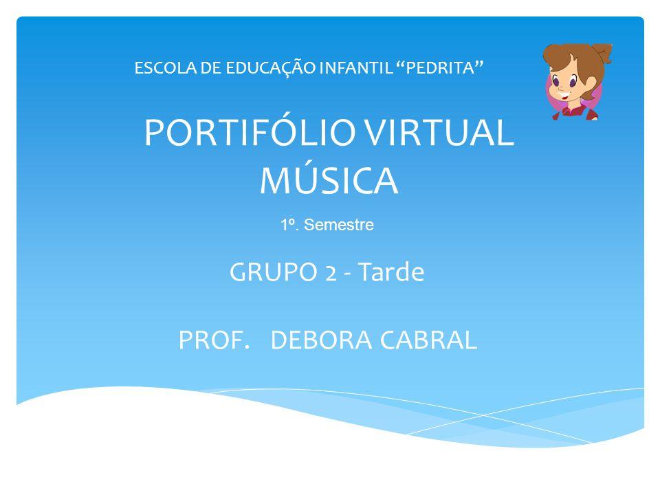 PORTIFÓLIO VIRTUAL MÚSICA