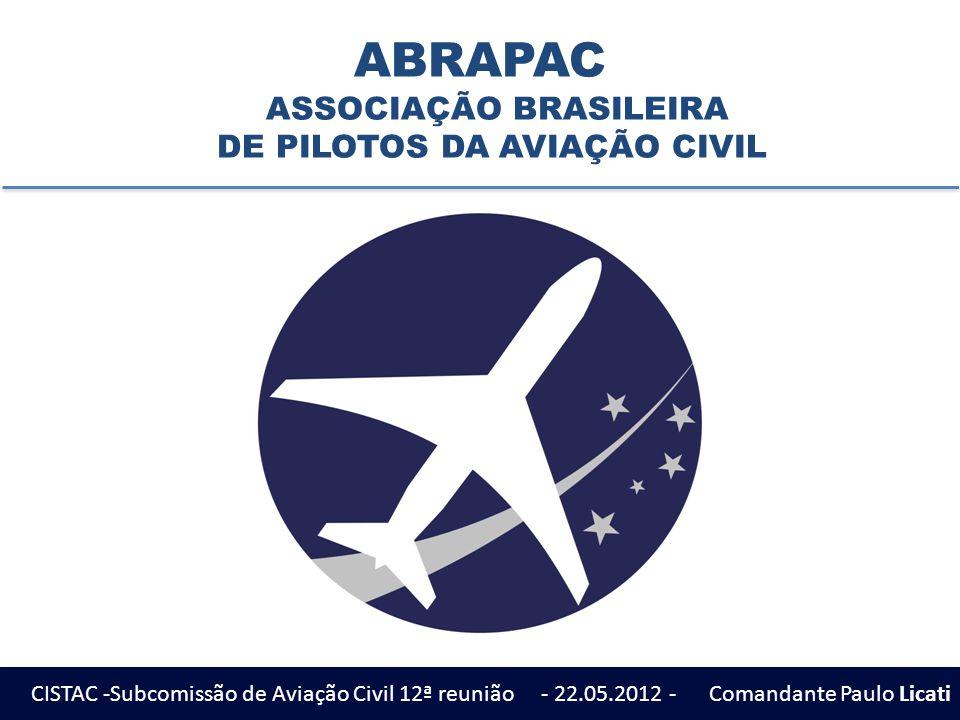 ABRAPAC ASSOCIAÇÃO BRASILEIRA DE PILOTOS DA AVIAÇÃO CIVIL