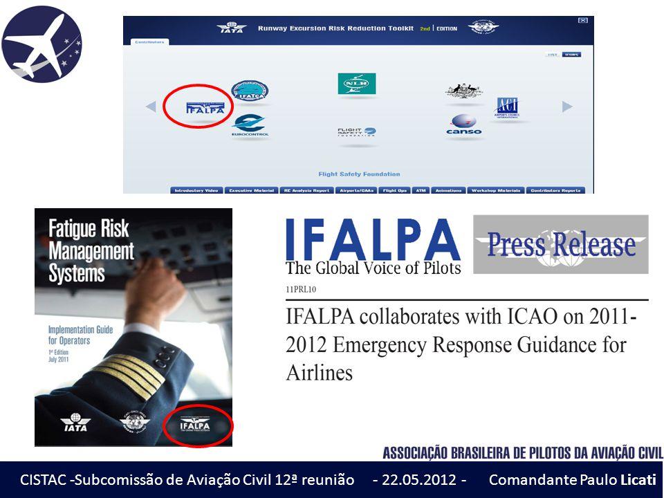 CISTAC -Subcomissão de Aviação Civil 12ª reunião - 22. 05