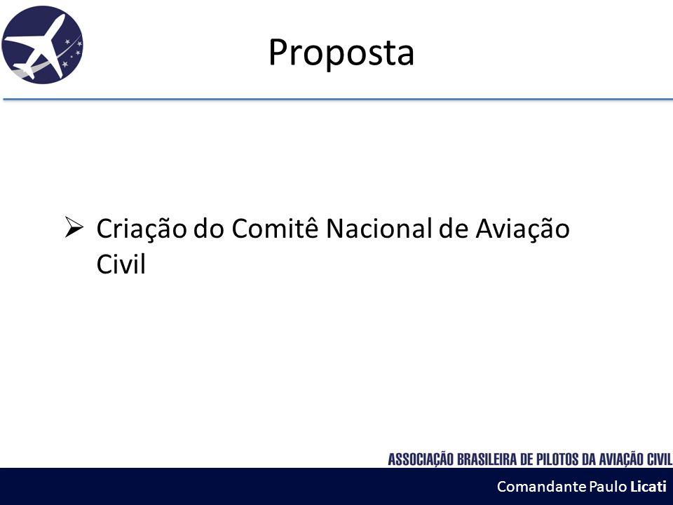 Criação do Comitê Nacional de Aviação Civil