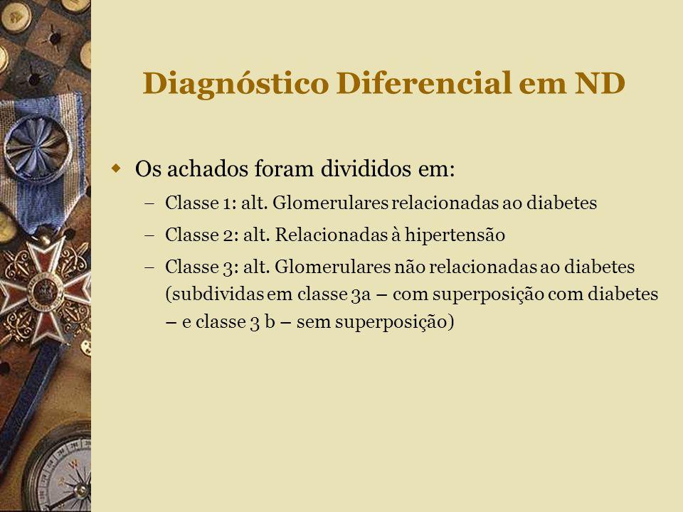 Diagnóstico Diferencial em ND