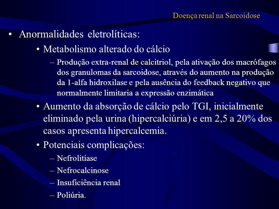 Doença renal na Sarcoidose