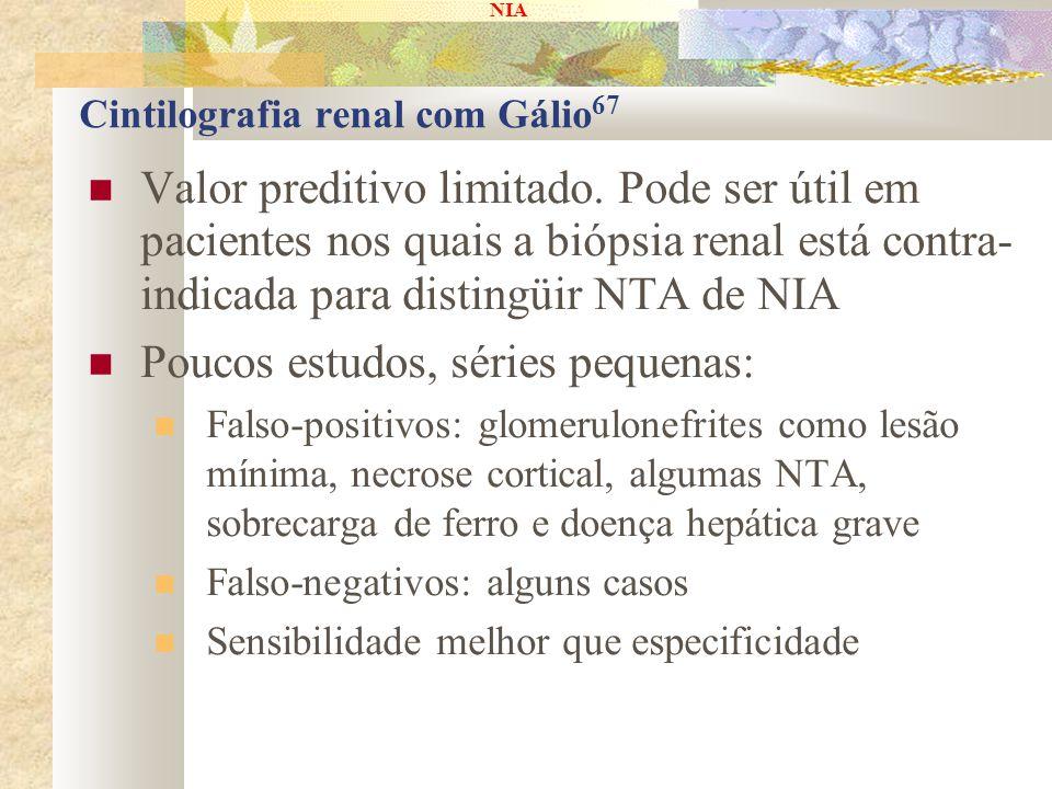Cintilografia renal com Gálio67