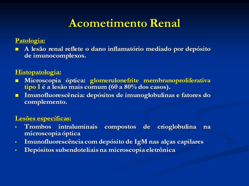 Acometimento Renal Patologia: