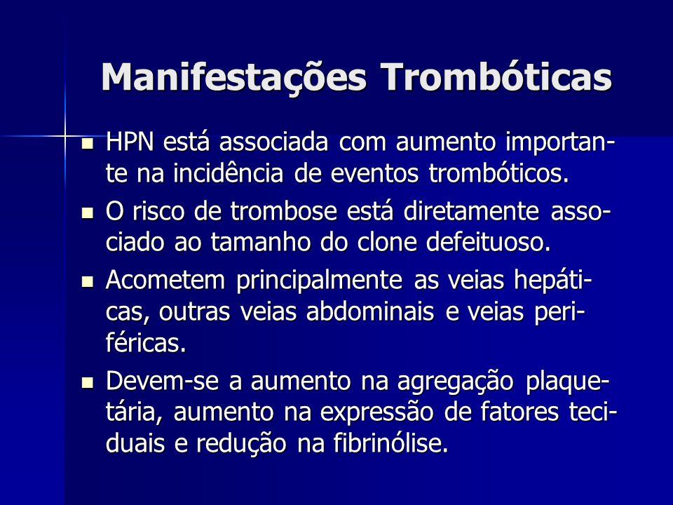 Manifestações Trombóticas