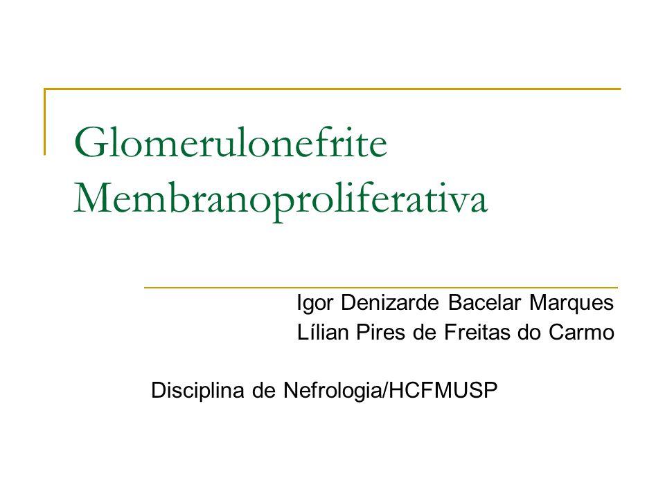 Glomerulonefrite Membranoproliferativa