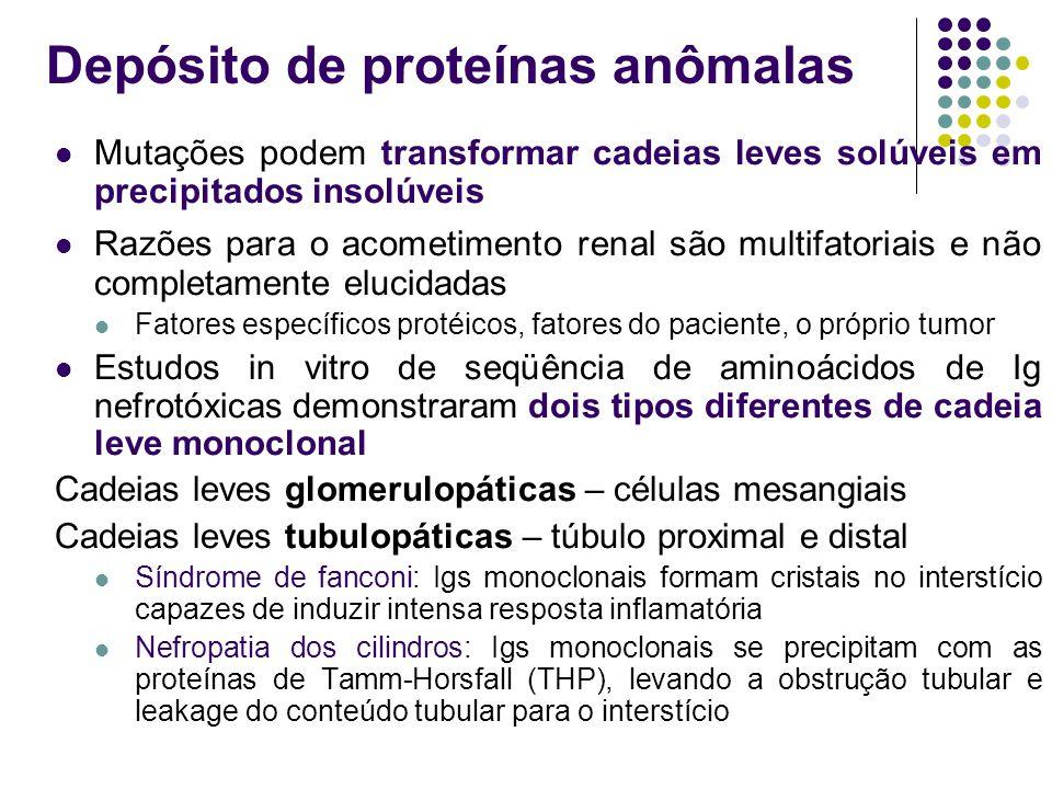 Depósito de proteínas anômalas