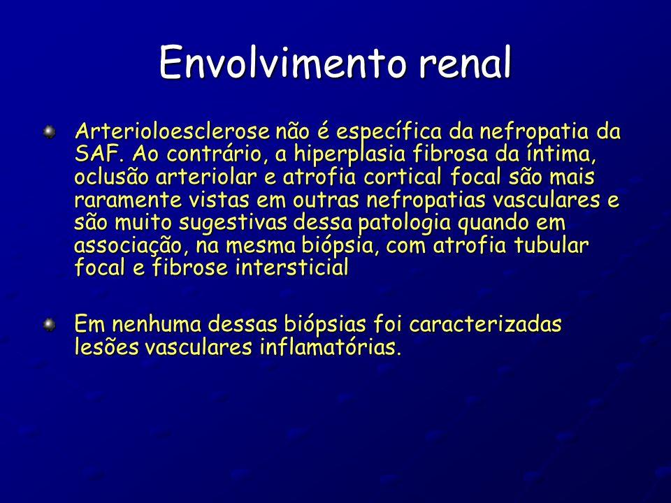 Envolvimento renal