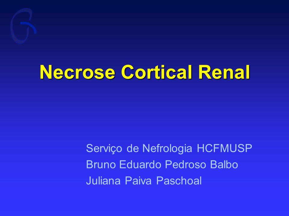 Necrose Cortical Renal
