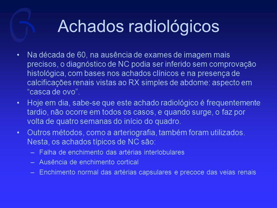 Achados radiológicos