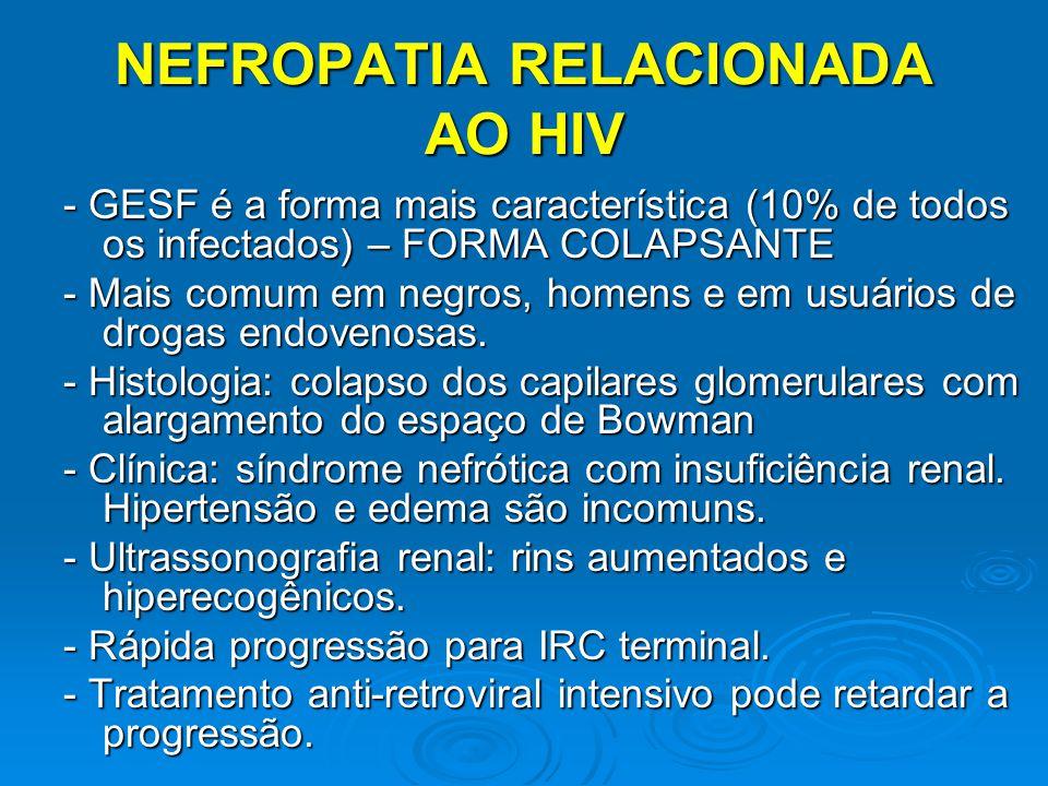 NEFROPATIA RELACIONADA AO HIV