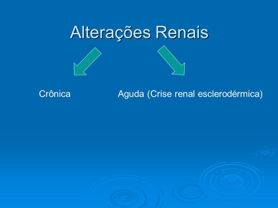 Aguda (Crise renal esclerodérmica)