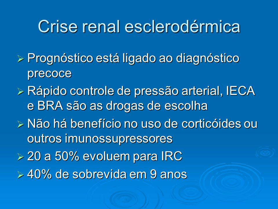 Crise renal esclerodérmica