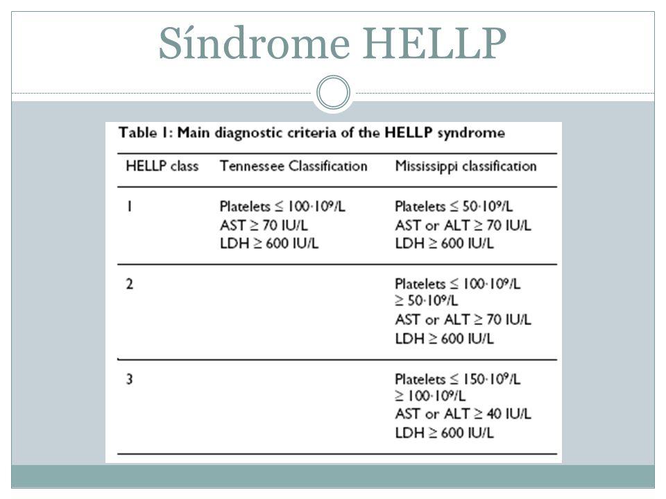 Síndrome HELLP