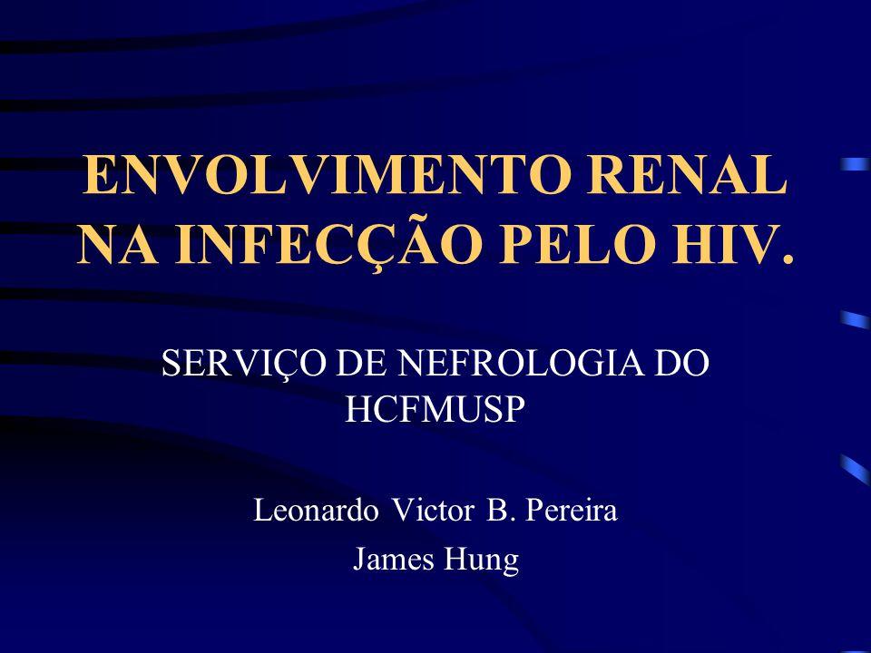 ENVOLVIMENTO RENAL NA INFECÇÃO PELO HIV.