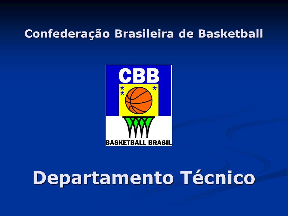 Confederação Brasileira de Basketball Departamento Técnico