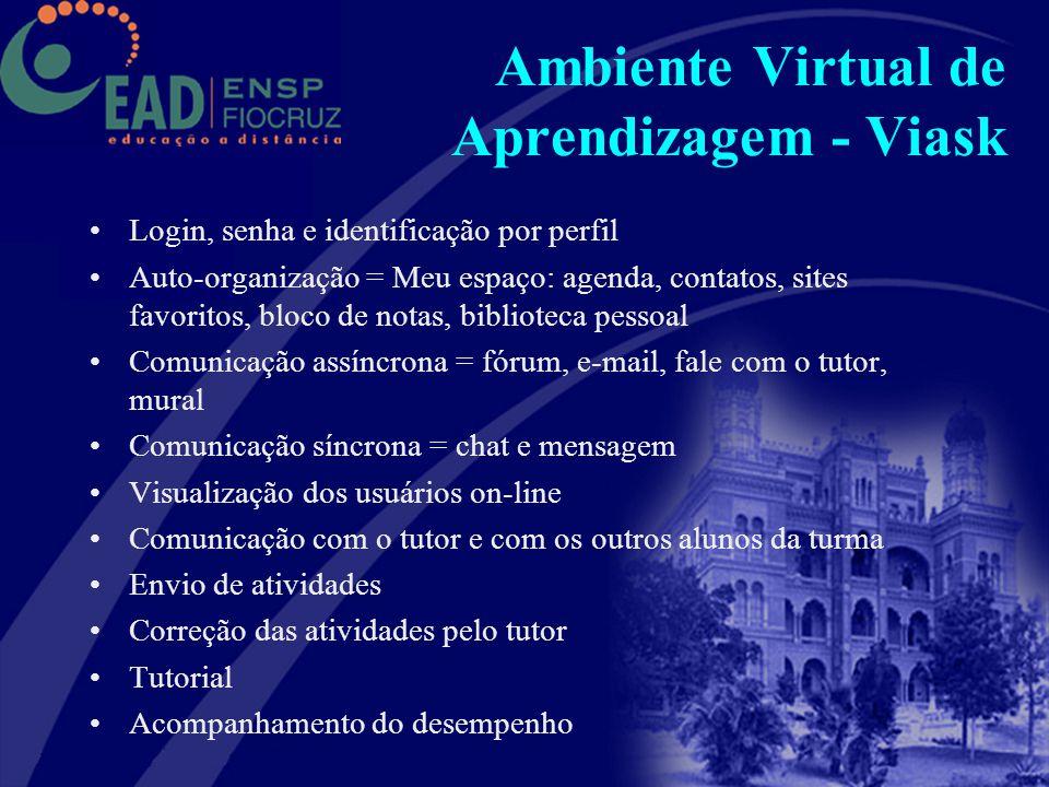 Ambiente Virtual de Aprendizagem - Viask