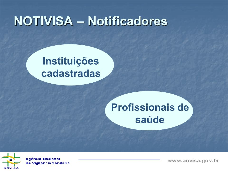 NOTIVISA – Notificadores