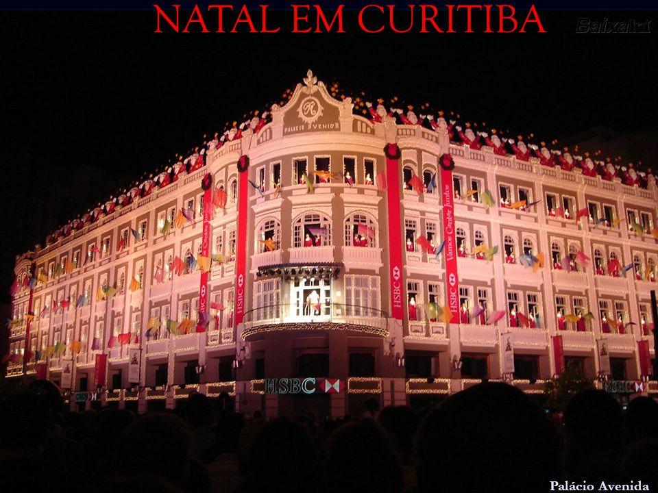 NATAL EM CURITIBA Palácio Avenida