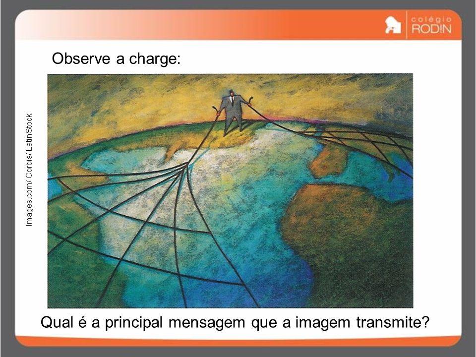 Qual é a principal mensagem que a imagem transmite
