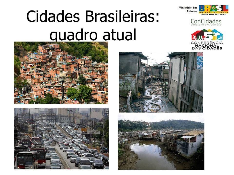 Cidades Brasileiras: quadro atual