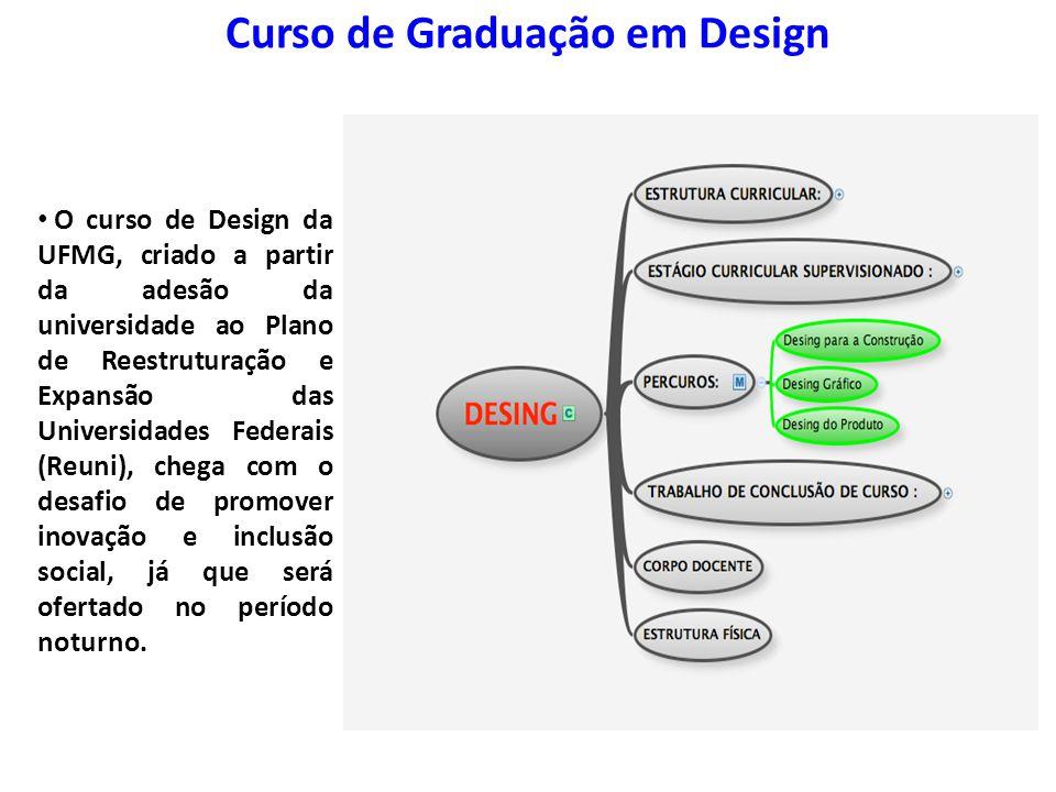 Curso de Graduação em Design
