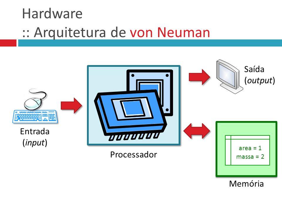 Hardware :: Arquitetura de von Neuman