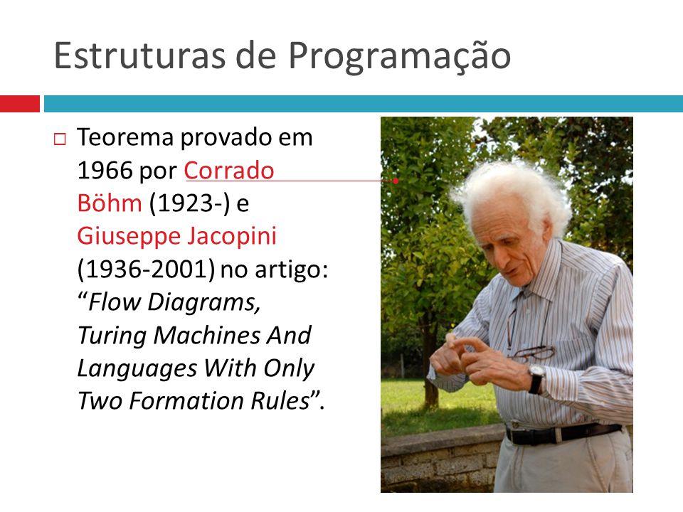 Estruturas de Programação