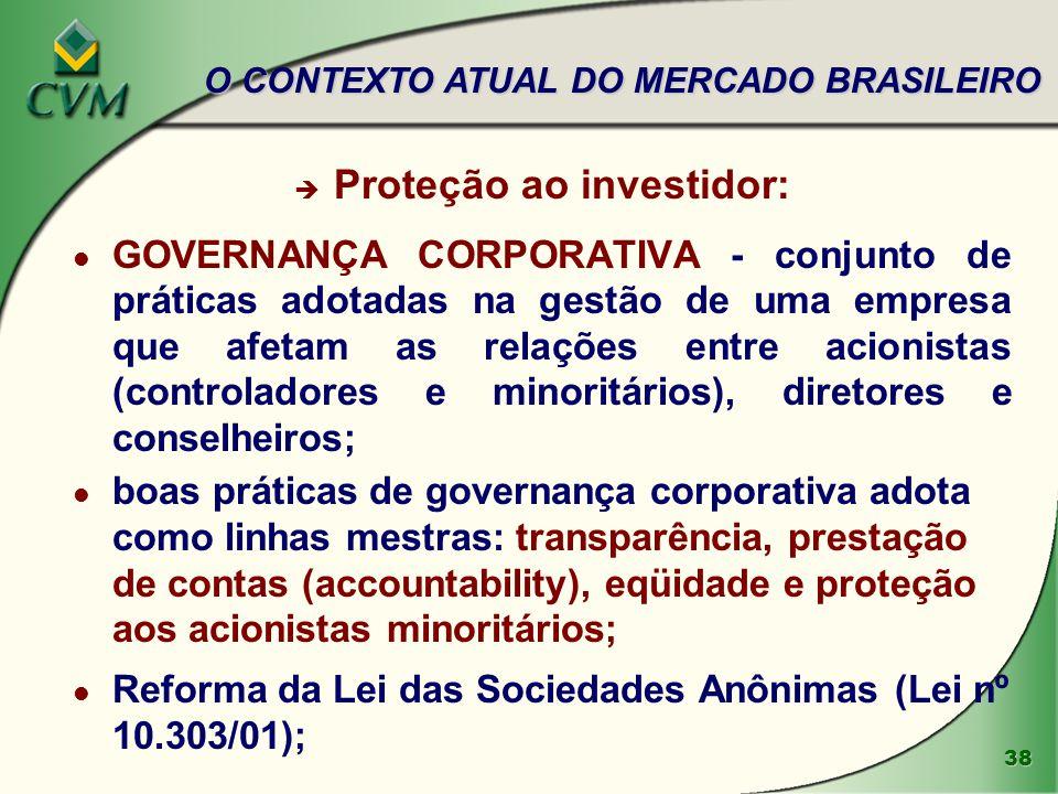 Proteção ao investidor: