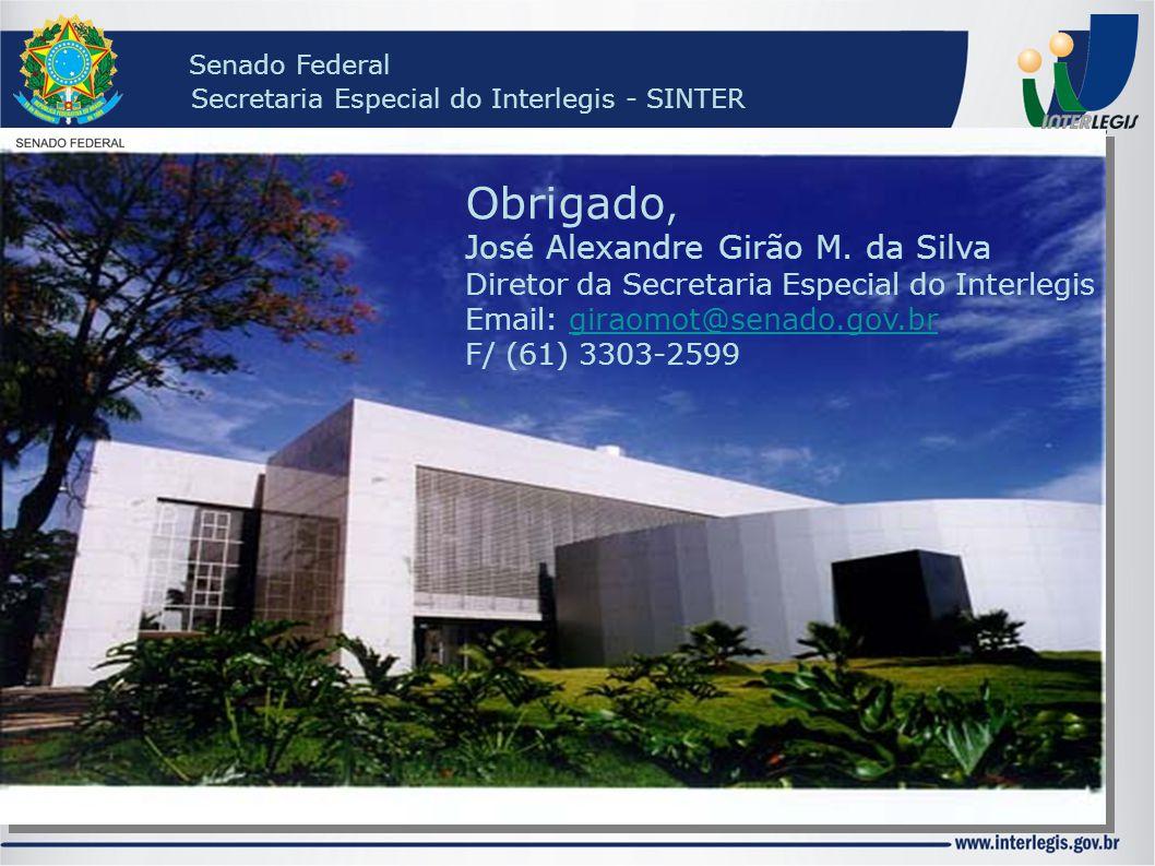 Obrigado, José Alexandre Girão M. da Silva