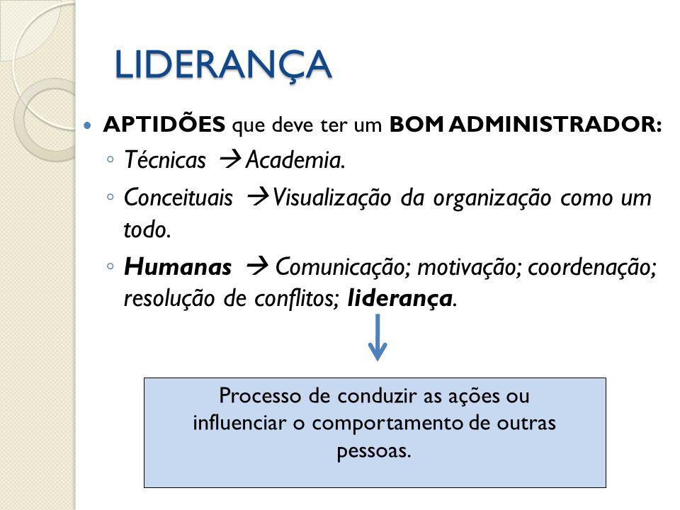LIDERANÇA Técnicas  Academia.