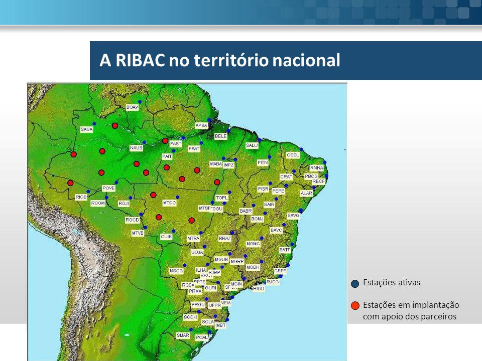 A RIBAC no território nacional