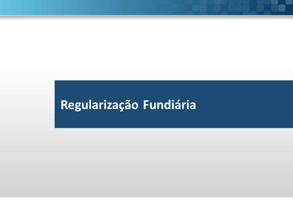 Regularização Fundiária