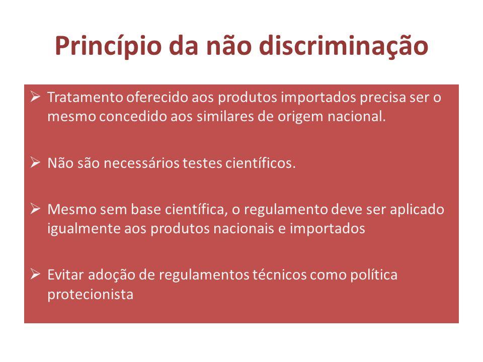 Princípio da não discriminação