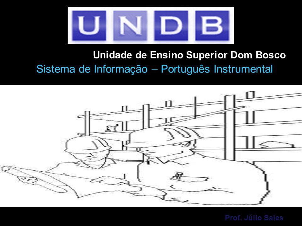 Sistema de Informação – Português Instrumental