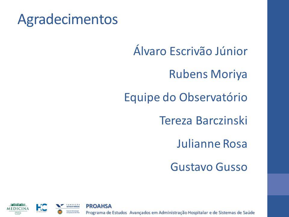 Agradecimentos Álvaro Escrivão Júnior Rubens Moriya