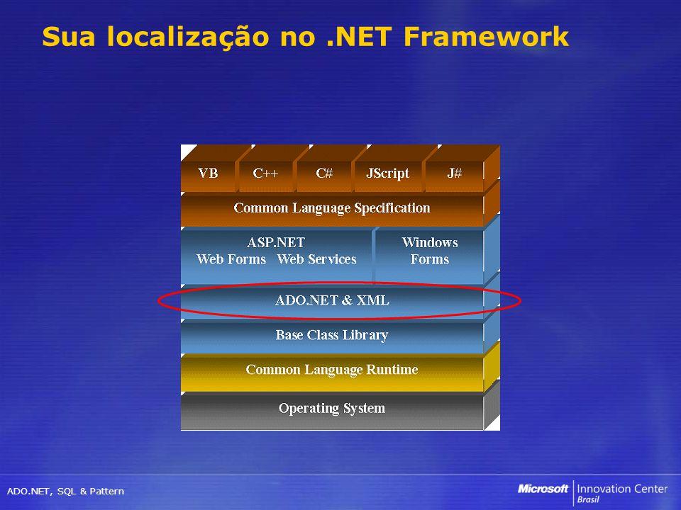 Sua localização no .NET Framework