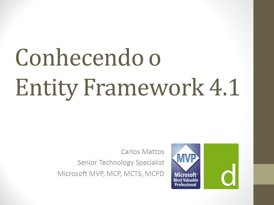 Conhecendo o Entity Framework 4.1