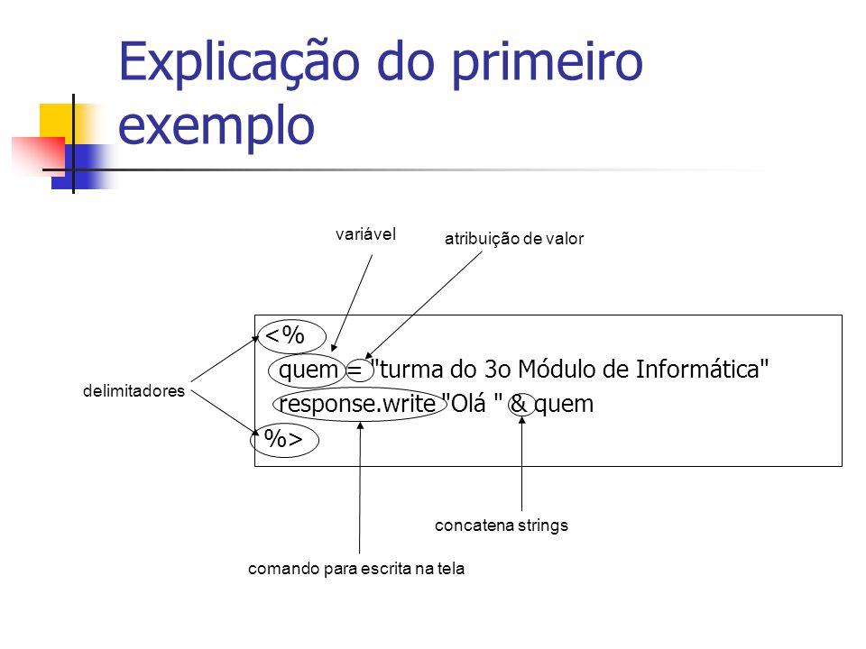 Explicação do primeiro exemplo
